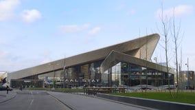 Estação central rotterdam Imagem de Stock Royalty Free