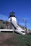 Estação clara principal das corujas, Rockland, MIM fotografia de stock royalty free