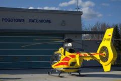 Estação da ambulância de ar Foto de Stock
