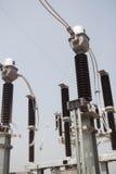 Estação da autoridade da eletricidade, central elétrica imagem de stock royalty free
