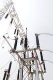Estação da autoridade da eletricidade, central elétrica imagens de stock royalty free