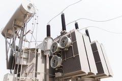 Estação da autoridade da eletricidade, central elétrica fotografia de stock