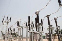 Estação da autoridade da eletricidade, central elétrica fotos de stock royalty free