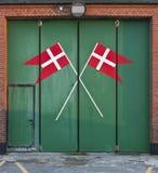 Estação da busca e de salvamento Vorupoer Dinamarca Imagem de Stock