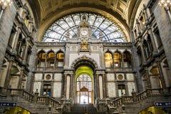 Estação da central de Antuérpia Imagens de Stock Royalty Free