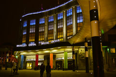 Estação da central de Bruxelas Imagem de Stock