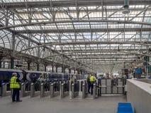 Estação da central de Glasgow Foto de Stock