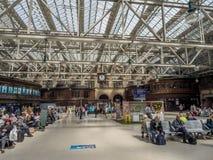 Estação da central de Glasgow Foto de Stock Royalty Free