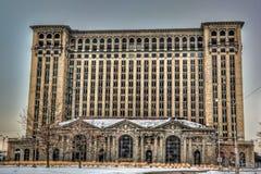 Estação da central de Michigan imagens de stock