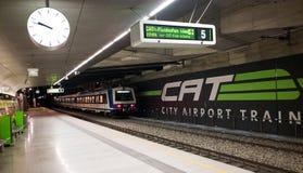 Estação da central de Viena Foto de Stock