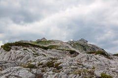 Estação da cimeira de Dachstein Foto de Stock