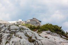 Estação da cimeira de Dachstein Imagens de Stock