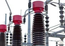 Estação da corrente eléctrica Imagem de Stock Royalty Free