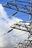 Estação da corrente eléctrica Foto de Stock