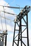 Estação da corrente eléctrica Imagens de Stock Royalty Free