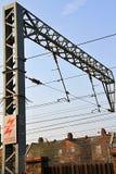 Estação da corrente eléctrica Fotos de Stock Royalty Free