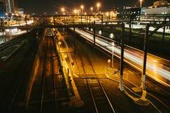 Estação da cruz do sul, Melbourne Fotos de Stock Royalty Free