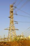 Estação da energia eléctrica. Imagens de Stock Royalty Free