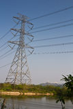 Estação da energia eléctrica. Fotos de Stock Royalty Free