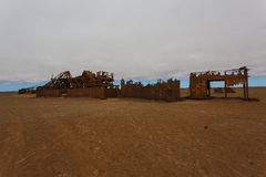 Estação da extração do óleo imagens de stock royalty free