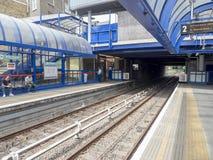 Estação da igreja DLR da curva Imagem de Stock