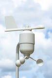 Estação da meteorologia do anemômetro Fotografia de Stock