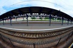 Estação da plataforma Imagem de Stock