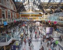 Estação da rua de Liverpool em Londres Imagem de Stock Royalty Free
