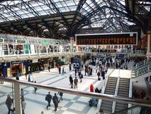 Estação da rua de Londres Liverpool Fotografia de Stock