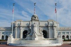 Estação da união no Washington DC Estados Unidos Fotografia de Stock Royalty Free