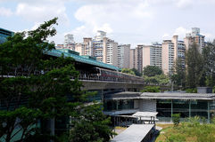 Estação da vista de Buona, Singapura Foto de Stock Royalty Free