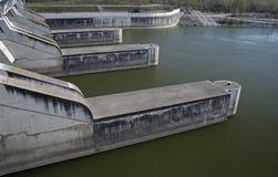 Estação das energias hidráulicas Foto de Stock