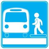 Estação de autocarro Foto de Stock