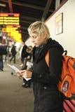 Estação de autocarro Fotografia de Stock