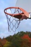 Estação de basquetebol foto de stock