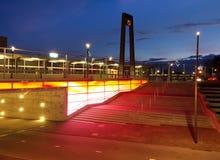 Estação de caminhos-de-ferro Fotografia de Stock