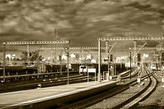 Estação de caminhos-de-ferro Imagem de Stock Royalty Free