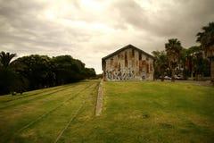 Estação de caminhos-de-ferro abandonado Imagens de Stock Royalty Free