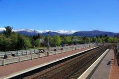 Estação de caminhos-de-ferro cênico Imagens de Stock