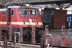 Estação de caminhos-de-ferro da Índia Fotografia de Stock Royalty Free