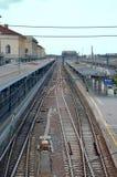 Estação de caminhos-de-ferro da Bolonha fotografia de stock