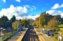 Estação de caminhos-de-ferro da esperança imagens de stock royalty free