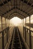 Estação de caminhos-de-ferro das cavernas do Soplao Imagens de Stock Royalty Free