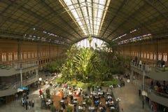 Estação de caminhos-de-ferro de Atocha Fotografia de Stock