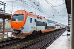Estação de caminhos-de-ferro de Casablanca, Marrocos Fotografia de Stock