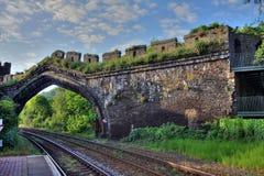 Estação de caminhos-de-ferro de Conwy Foto de Stock Royalty Free
