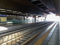Estação de caminhos-de-ferro de Fiera do ró fotos de stock