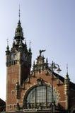Estação de caminhos-de-ferro de Gdansk Fotos de Stock Royalty Free