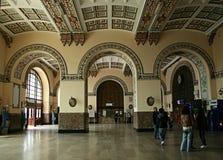 Estação de caminhos-de-ferro de Haydarpasa foto de stock royalty free