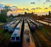 Estação de caminhos-de-ferro de Haydarpasa Imagens de Stock Royalty Free